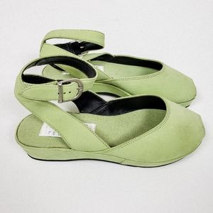 Esprit wedge sandals 5.5 like new condition